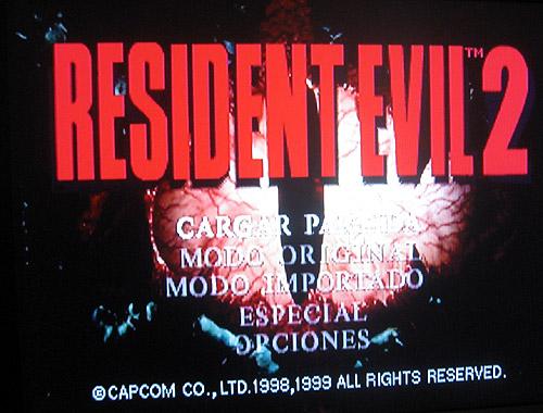 resident evil 2 dreamcast